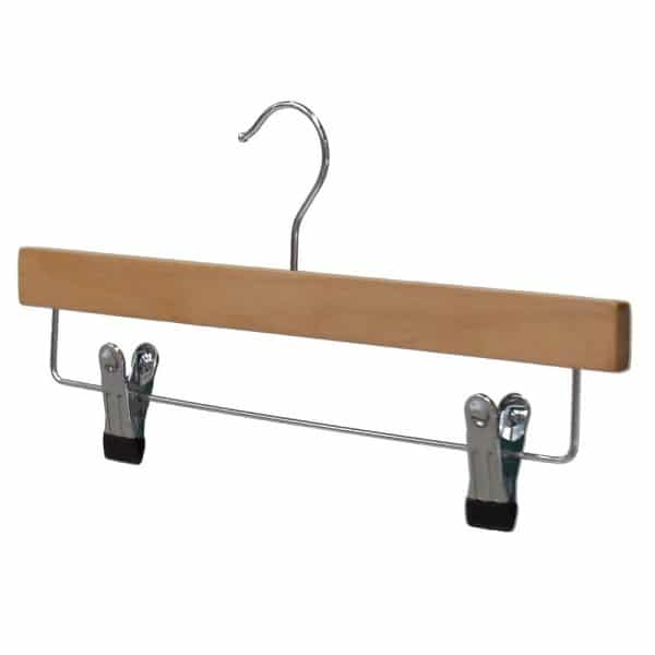 Wooden Extra Strong Clip Hanger WWC35