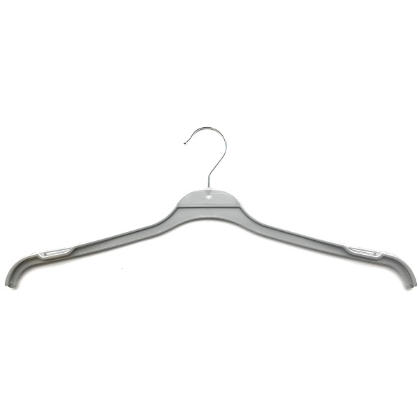 Ladies Fashion Hangers Silver 44cm T44S