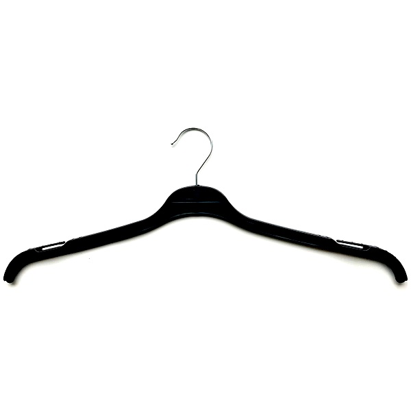 Ladies Tops Hangers Black 44cm T44B
