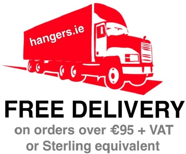 FREE Delivery on orders over €95 + VAT or Sterling equivalent