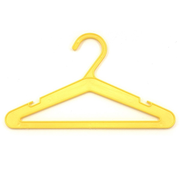 Yellow Baby Hangers with Bar