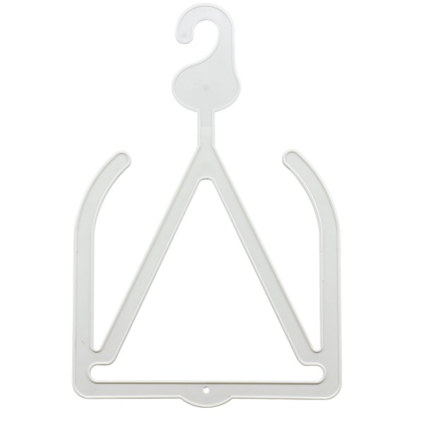 Hat and Scarf Hanger White
